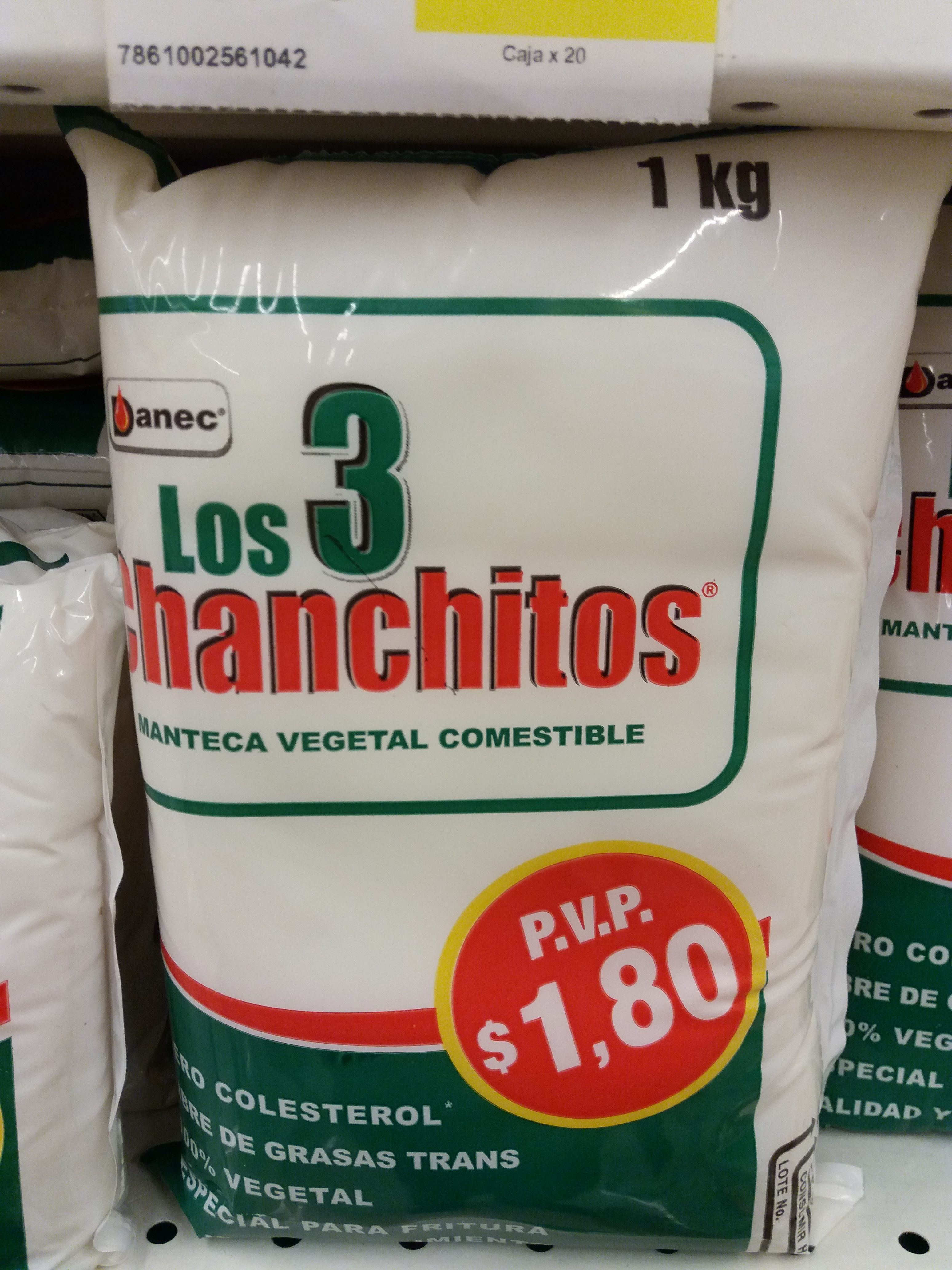 Tres chanchitos Mantequilla Image