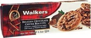 walkers belgian chocolate chunk biscuits Image